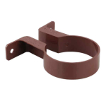 OSMA 0T038 BROWN DOWNPIPE SOCKET BRACKET ROUNDLINE