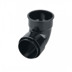 OSMA 0T161 BLACK 87.1/2 DEGREE DOWNPIPE BEND