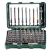 METABO 6.26705 WOOD DRILL BIT STORAGE CASE 8 PIECE