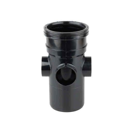 Osma 4 Quot Soil Waste Pipe Fittings Osmasoil 4s589 Black